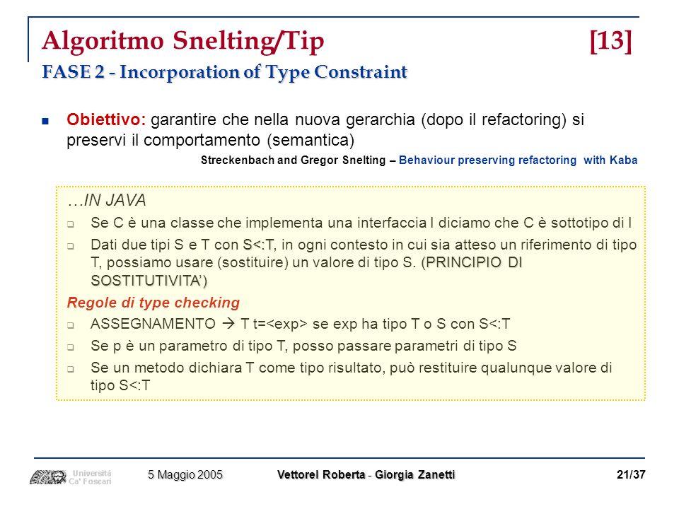 Algoritmo Snelting/Tip [13]